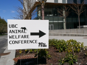 UBC welfare conf sign