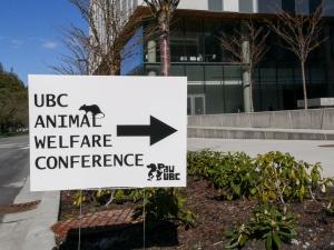UBC welfare conf sign